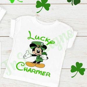Mickey & Minnie St. Patrick's day shirts